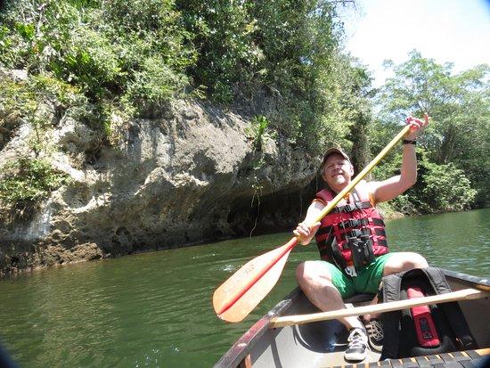 The Lodge at Chaa Creek: Canoe Macal River from Chaa Creek