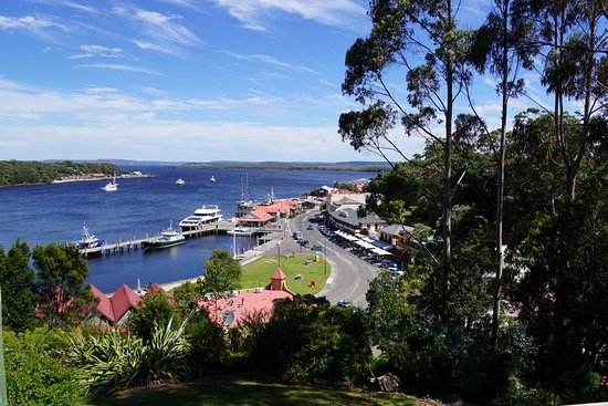 Strahan Village: View from our balcony