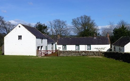 Auldgirth, UK: Ellisland Farm buildings