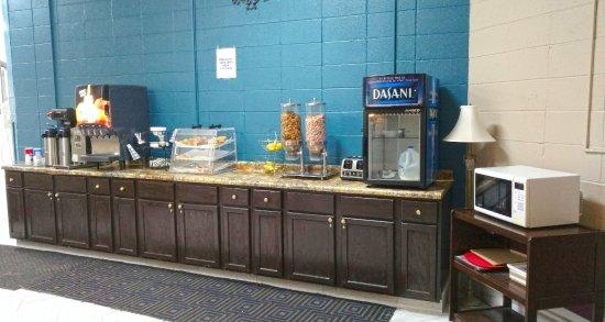 Faribault, Миннесота: Breakfast Area