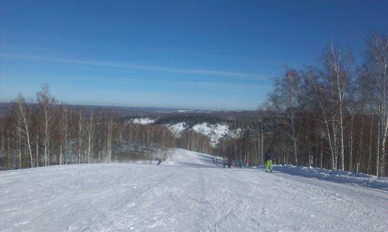 Novososedovo, รัสเซีย: вид сверху ( с трассы N1)