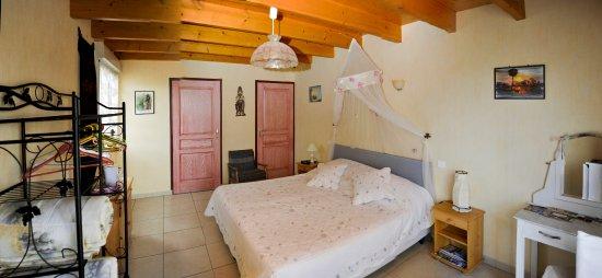 Deux-Sevres, France: chambre exotique