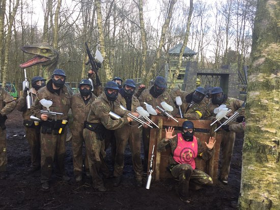 ‪Delta Force Paintball Liverpool‬