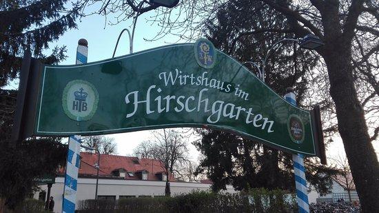 Hirschgarten: Ingresso