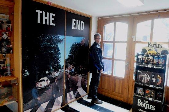 Egri Road Beatles Múzeum: Itt a vége.