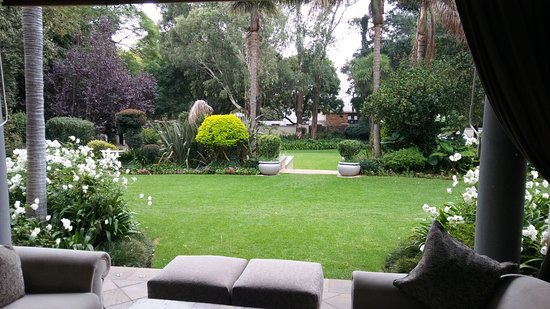 10 2nd Avenue Houghton Estate: View on the garden