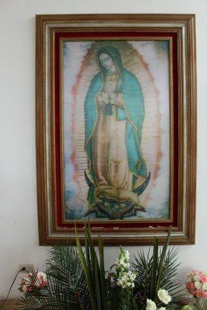 Parroquia de Cristo Resucitado: Virgen de Guadalupe 3D