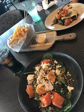 Wolli Creek, Australia: Vegetarian choices that we had
