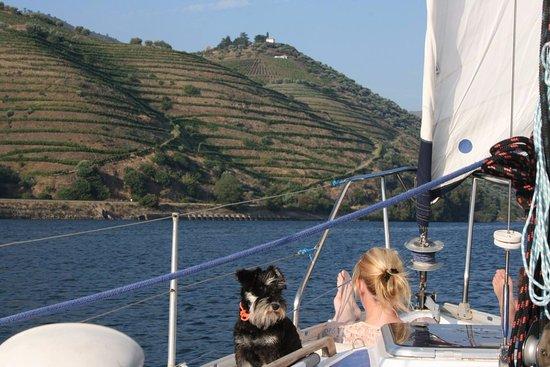 Anima Durius Douro River Cruises : Luna making company!