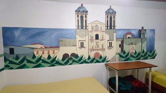 Oaxaca, المكسيك: Mural de Santo Domingo de Guzmán. Cuarto #3