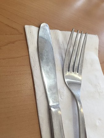 "Neptune City, NJ: Disgusting ""clean"" cutlery"