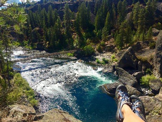 Spokane, WA: Hike, mountain bike, camp, the option or endless at Riverside State Park
