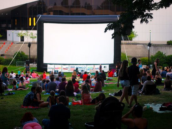 Fun for the whole family, outdoor movies can be found in many parks through out Spokane region.