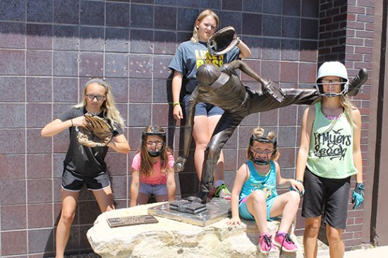Mason City, IA: 'Schools Out!' - River City Sculptures on Parade