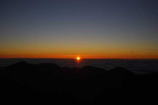 Paia, HI: The sunrise