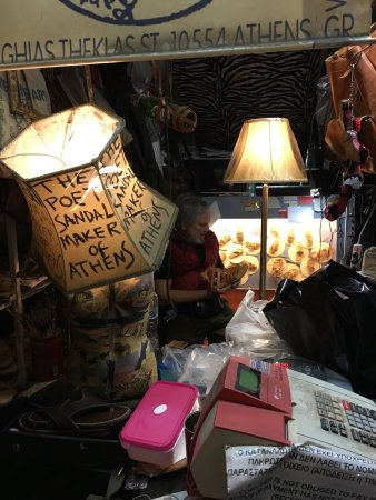 Melissinos Art -The Poet Sandal Maker: We spent almost 3 hours here but we love every minute of this experience.  We left with 4 pairs