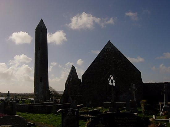 Cratloe, İrlanda: The Round Tower in Kilmacdaugh