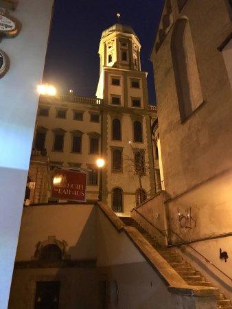 Hotel Am Rathaus : Blick zum Kirchturm