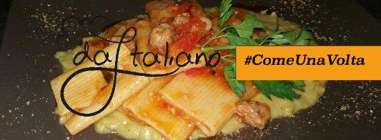 Tripi, Italia: La tradizione vuole la sua parte. E allora come non gustarsi un piatto di pasta fresca #comeunav