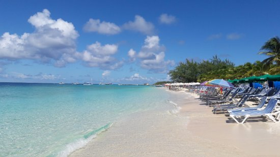 A praia é maravilhosa e tem bo...