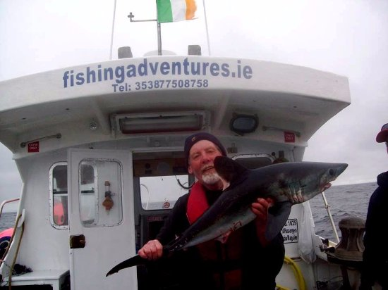 Fishing Adventures operates from the beautiful unspoilt fishing village of Kilbaha on the Loop H