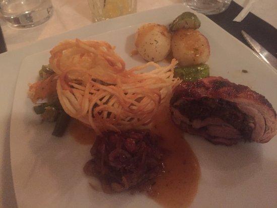 Chez Pierre: Abendessen: Nicht nur geschmacklich, sondern auch ...