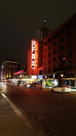The Fox Theatre: Entrance on Grand to the Fox Theater