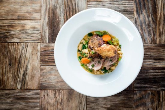 Mendoberri Cafe And Wine Bar: Pork & Chicken Cassoulet