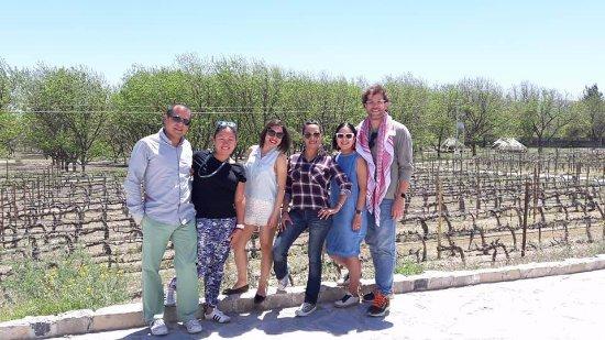 Bodega Rivero Gonzalez: Conociendo gente interesante !