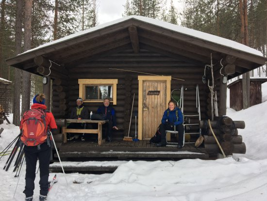 Suomussalmi, Finland: Hosa - sauna around the lake