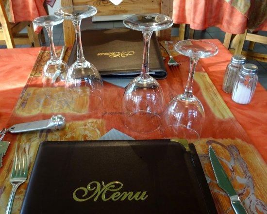 Osseja, Frankreich: Table resto