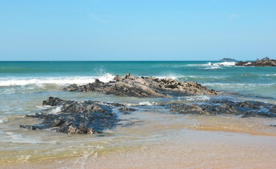 Treyarnon Bay Beach: Lovely views