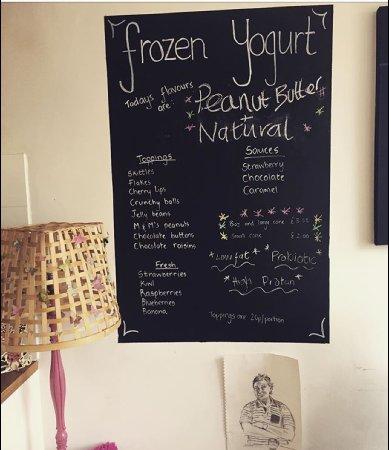 Wirksworth, UK: one of Sour Cows favourite Frozen Yoghurt flavours 🐮