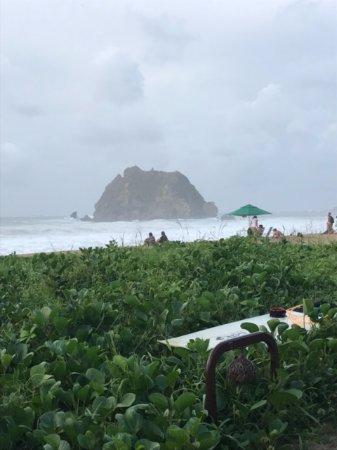 Conceicao Beach: Deu onda!