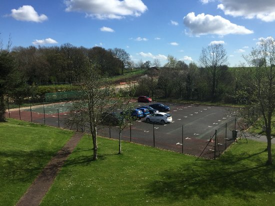 Room With A View Of The Car Park Picture Of Macdonald Botley Park