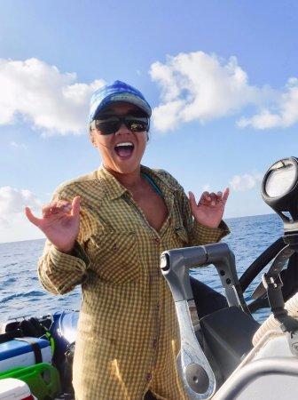 Kauai Down Under Dive Team : J-Sea our super chill Captain!