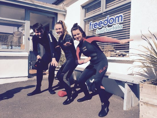 Freedom Surf School & Adventure: the group