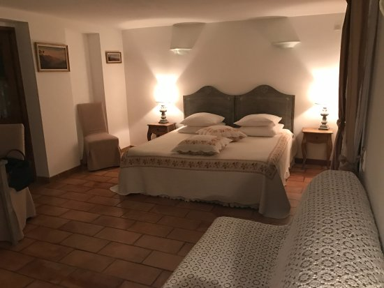 Chez Dany - Maison D'Hotes : The room is spacious, clean, comfortable