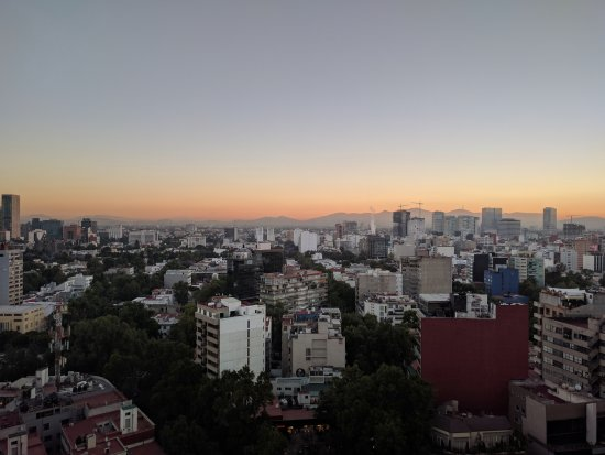InterContinental Presidente Mexico City: View from the 25th floor
