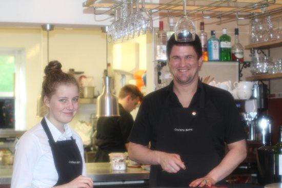 Rosemarkie, UK: Front of house team