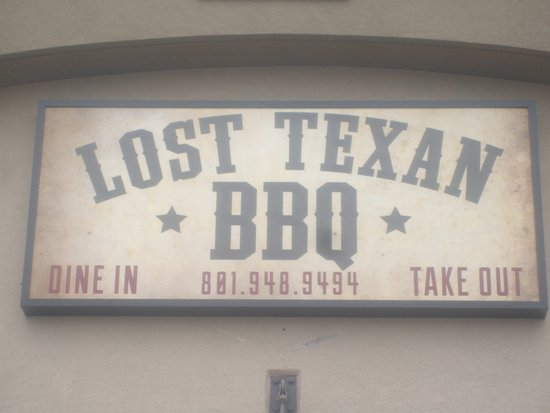 North Ogden, UT: Lost Texan sign