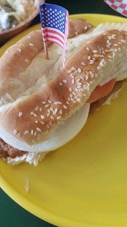 Oakland, MS: Fried Fish Sandwich