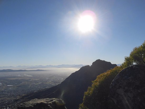 Hike Table Mountain: Sun's up!