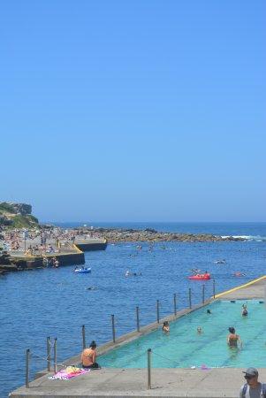 Clovelly: Piscina da praia