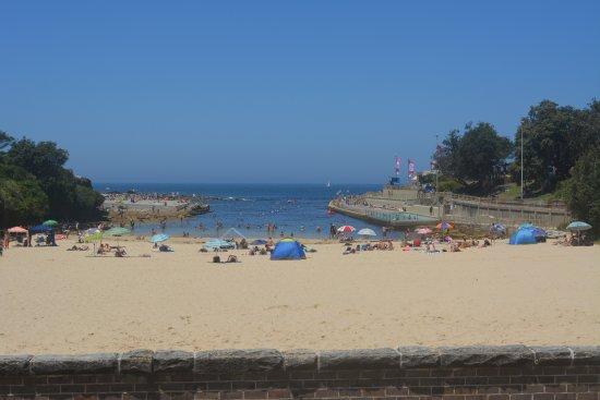 Clovelly: Praia