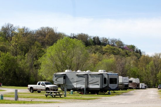 Cotter, AR: Denton Ferry RV park
