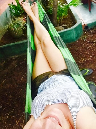 Hostel Esperanza : One of my favorite chilling spots, the hammock 😎
