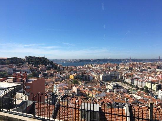 Photo of Scenic Lookout Miradouro da Senhora do Monte at Rua Senhora Do Monte 50, Lisbon 1170-361, Portugal