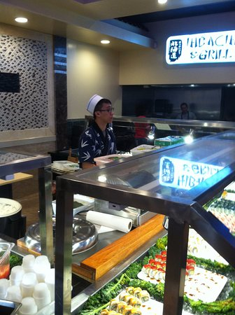 sushi chef and sushi buffet picture of hokkaido chinese and rh tripadvisor com mikado sushi buffet orlando best sushi buffet orlando