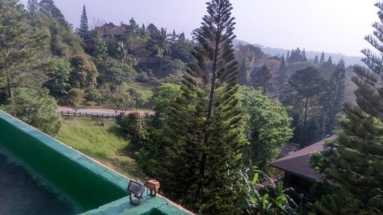 Laurel, Philippines: View from the Clubhouse